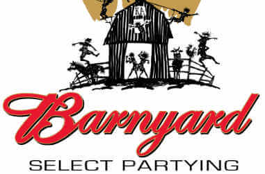 KA Barnyard shirt design with animals and people partying